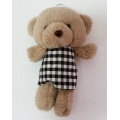 TB0036-bear teddy with bow tie
