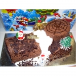 CX0508-singapore christmas logcake