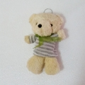 TB0028-bear teddy bow tie