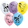 BB09-singapore 12 inch animals farm balloons