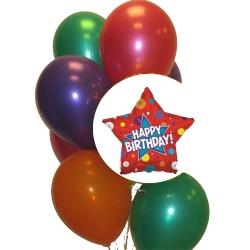 BB1042-singapore 1st birthday balloons