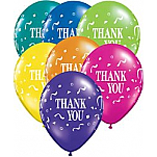 Bb11 singapore 12 inch thank you balloons