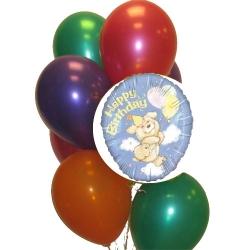 BB1069-happy birthday bunny balloons