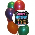 BB0807-happy birthday balloons