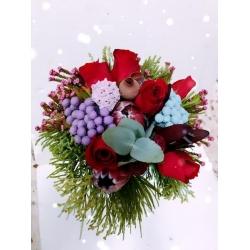 0GF1212-bouquet de amore III