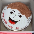 Faces and Shapes Design Cakes