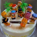 GF0019-Garfield Fantasy Cake