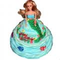 GF0023-Mermaid Doll Cake