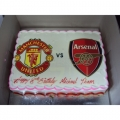 GF0035-Man U vs Arsenal cake