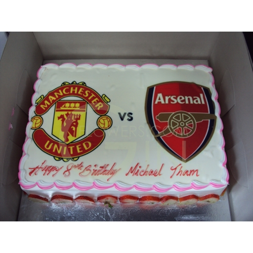 Arsenal Birthday Cake Singapore