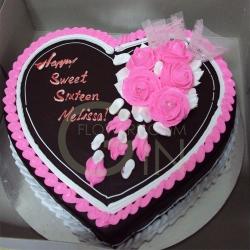 GF0039-Coated Heart Cake