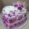 GF0335-purple heart cake