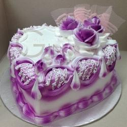 GF0335-purple heart cake