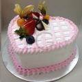 GF0364-heart stripe cake