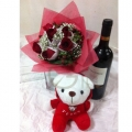 GF0367-rose bear wine