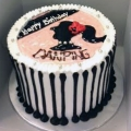 GFP0566-300gm cake delivery
