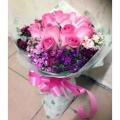 GF0576-pink posy
