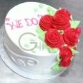 GF0583-romance cake delivery