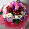 GF0595-rose flower bouquet delivery