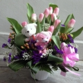 GF0596-flower arrangement delivery