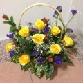 GF0952-roses arrangement singapore
