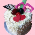 GFP0964-300gm heartshape cake delivery