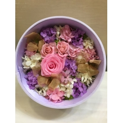 GF1100-Forever roses delivery