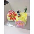 GF1032-xmas log cake