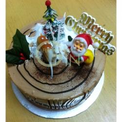 GF001XMAS 300gm Min Log Cake