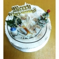 GF002XMAS 300gm Min Log Cake