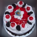GF0090V-Vegetarian Eggless Blackforest Cake