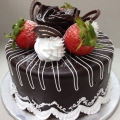 GF0099-Coated Chocolate Cake