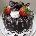 GF0099-Coated Chocolate Cake