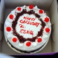 OC0126-Vegetarian/Eggless Blackforest Deluxe Cake