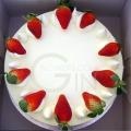 OC0128V-Vegetarian/Eggless Fresh Durian Deluxe Cake