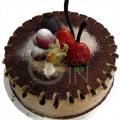 GF0156-Chocolate Truffle Birthday Cake