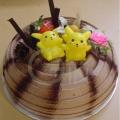 OC0157-Poky Star Children Cake