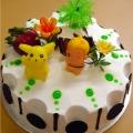 OC0158-Poky Top Children Birthday Cake