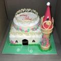 OC0195-My Fair Pricess Star Castle Cake