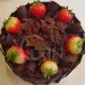OC0211-Dreamy X Chocolate Birthday Cake