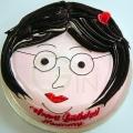 1-OC0262-I Love Sister Cake