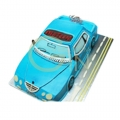 OC0287-blue car cake