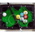 OC1153-Snooker Table Cake