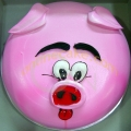 2-OC1168-shape piggy cake