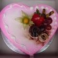 OC1172-Pink Heart Cake