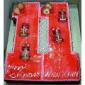 OC1176-Figure Eleven (11) Cake