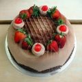 OC1184-Chocolate Berries Cake