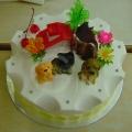 OC1186-Puppies Cake