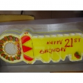 OC1189-21st Key Cake
