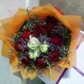 5e995e6718 QF0865-roses hand bouquet flowers